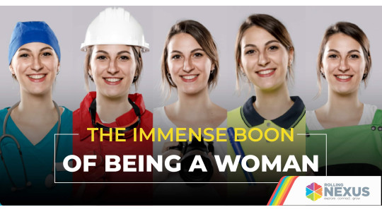 Boon of being a Woman